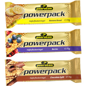 Peeroton Powerpack Oatmeal Bar Testing Box 15 x 70g, Mixed